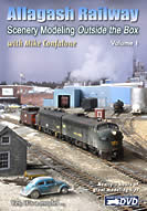 Cover ALLAGASH RAILWAY - Scenery modeling outside the box - vol 1