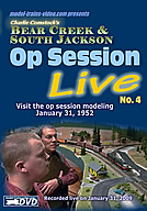 Model Railroad Op Session LIVE no.4