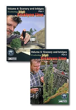 Model trains video - Model Railroad scenery how-to set (2 DVDs)